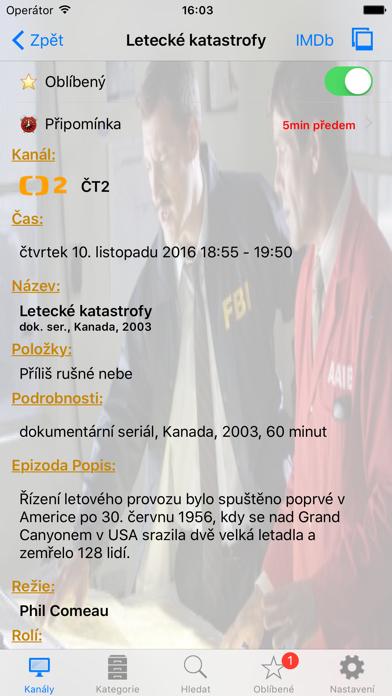 Czech TV+ Screenshots