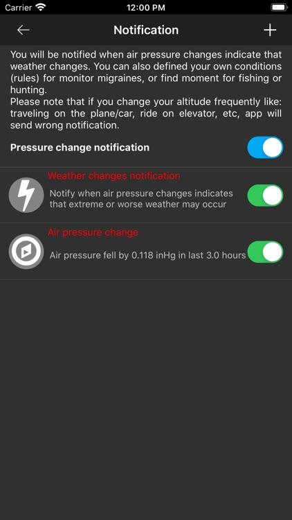 Barometer Plus - Altimeter PRO screenshot-3