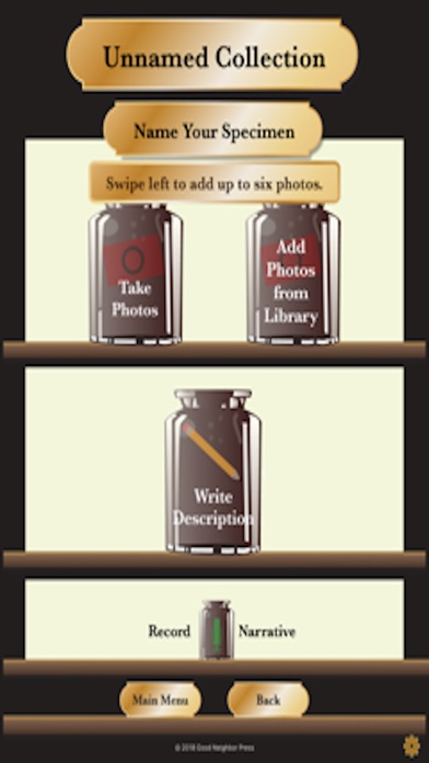Screenshot for Cabinet of Curiosities in United States App Store
