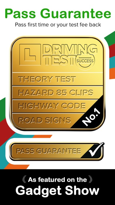 Driving Theory Test 4 in 1 Kit screenshot one