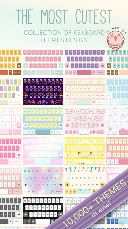 Pastel Keyboard - VIP Premium screenshot-3