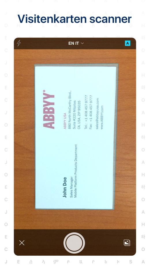 Business Card Scanner By Abbyy 版本记录 Ios App版本更新