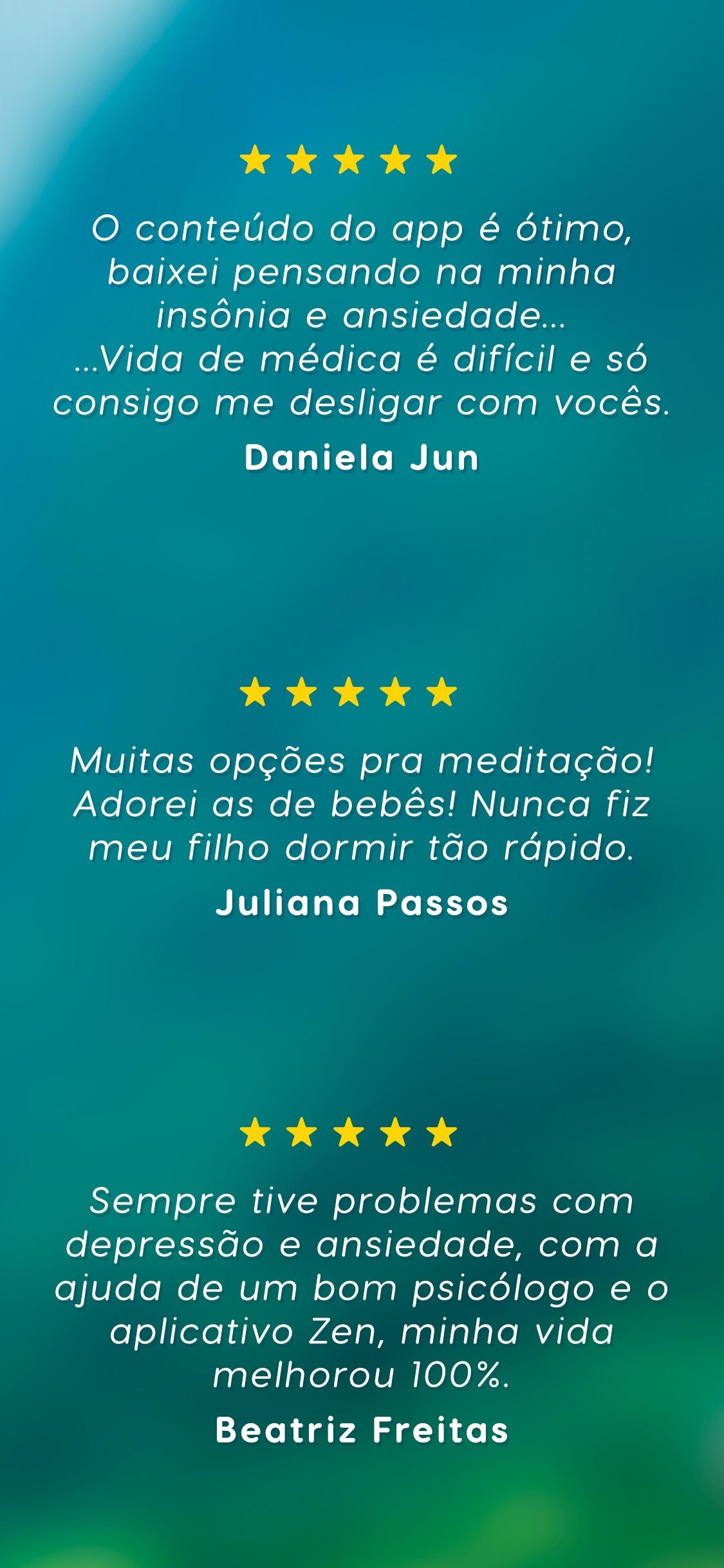 Screenshot do app Zen - Meditação e Sono