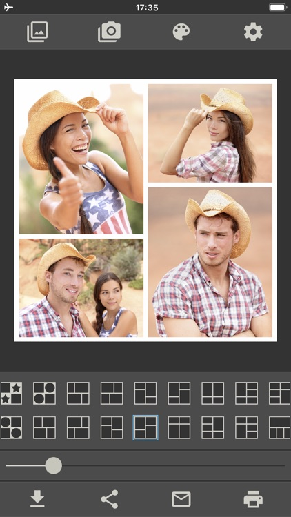 Photo Collage Make & Print PRO screenshot-5