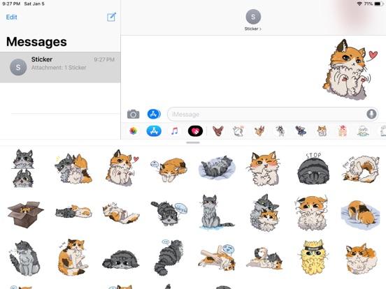 Cat Bigmoji Funny Stickers screenshot 5