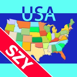 Map Solitaire USA by SZY