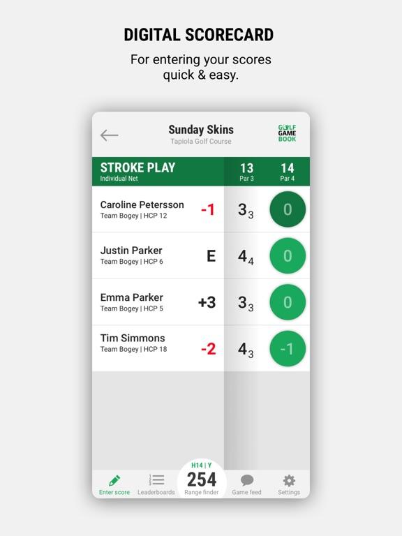 Screenshot #4 pour Golf GameBook - Best Golf App