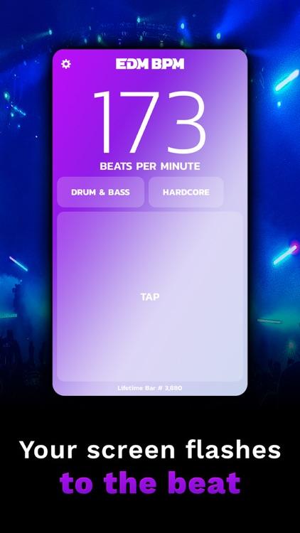 edm bpm   ϟ   bpm counter screenshot-4