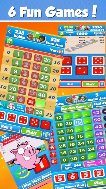 Dice World® 6 Fun Games screenshot-0
