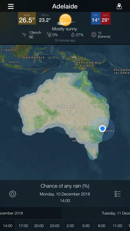 WeatherAlert: AUS Radar screenshot-6