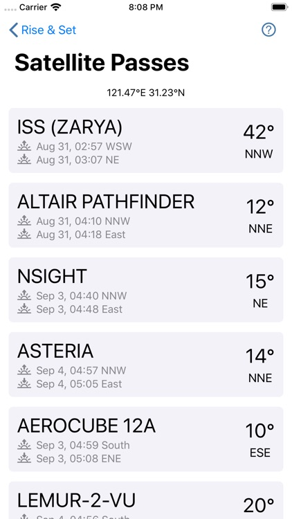 Astroweather - astronomy tools screenshot-5