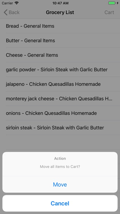 Dinnertime Planner screenshot-5