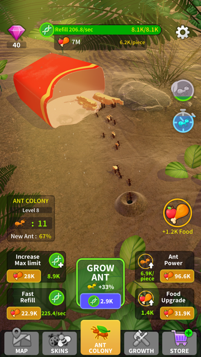 Little Ant Colony - Idle Game free Gems hack