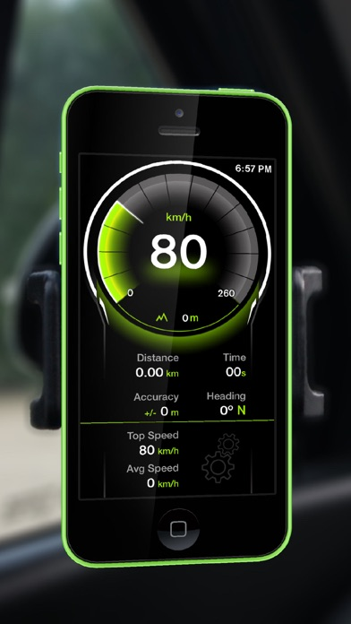 Screenshot for GPS Digital Speed Tracker Pro in Brazil App Store