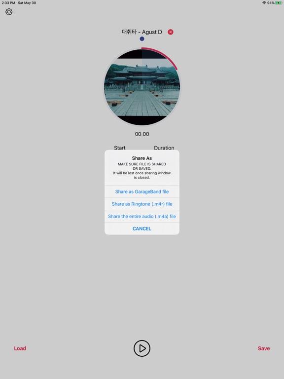 iPad Image of MusicToRingtone