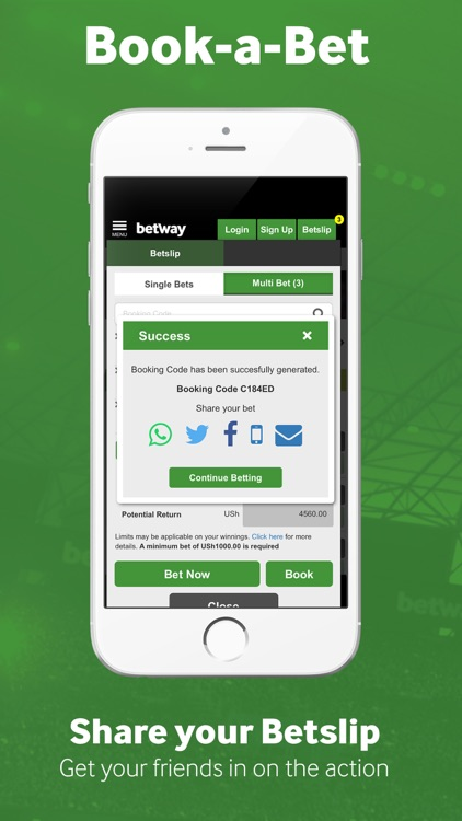 Betway Sport Betting screenshot-2
