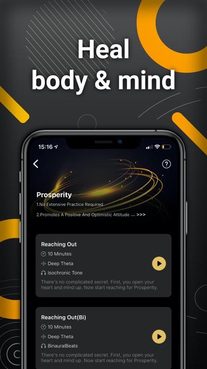Brainwaves -- BinauralBeats screenshot-3