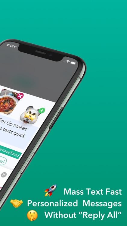 Hit Em Up Mass Text   Bulk SMS