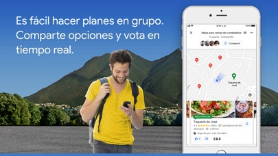 Screenshot for Google Maps - trafico y comida in Peru App Store