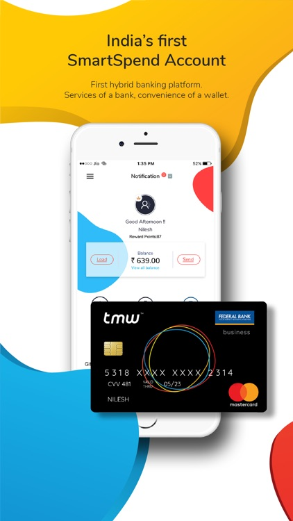 tmw - Wallet, Card, Recharge