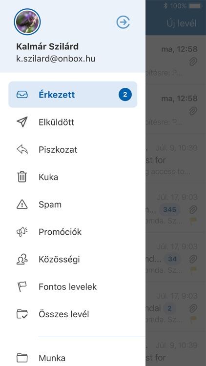 Freemail bejelentkezés mobilról