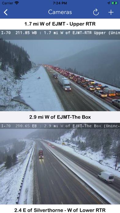 CDOT Colorado Road Conditions screenshot 2