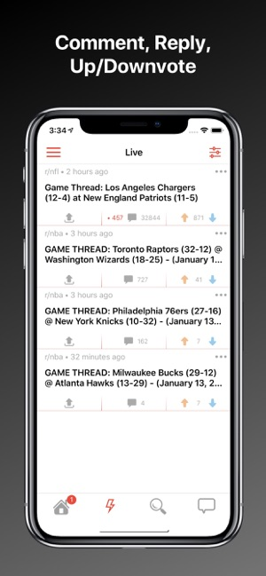 Game Threads for Reddit on the App Store