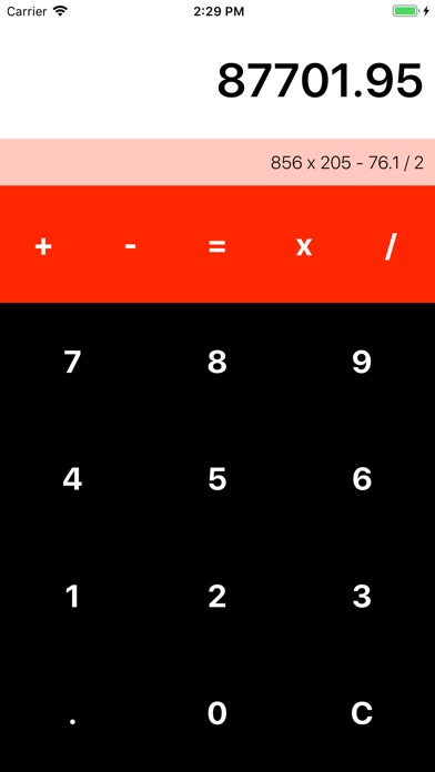 Screenshot for Simple Ribbon Calculator in Estonia App Store