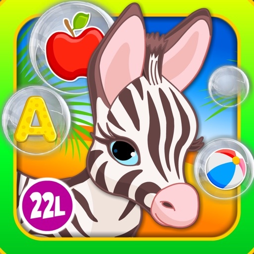 123 Bubble Kids Learning Games