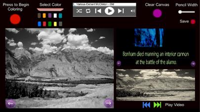 The Alamo- Coloring and Audio screenshot 1