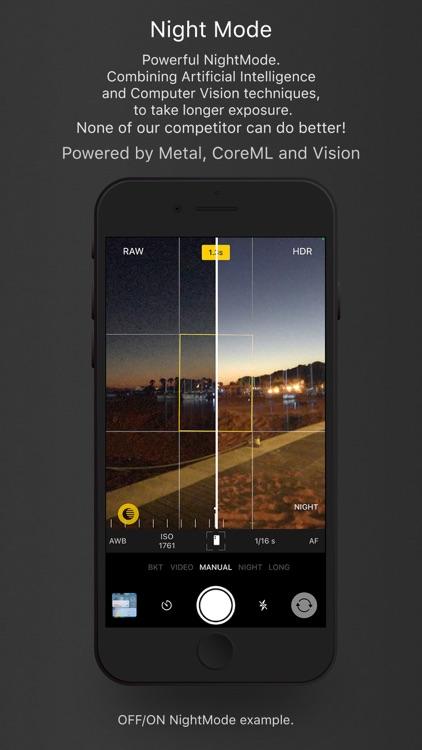 Lumina manual AI camera