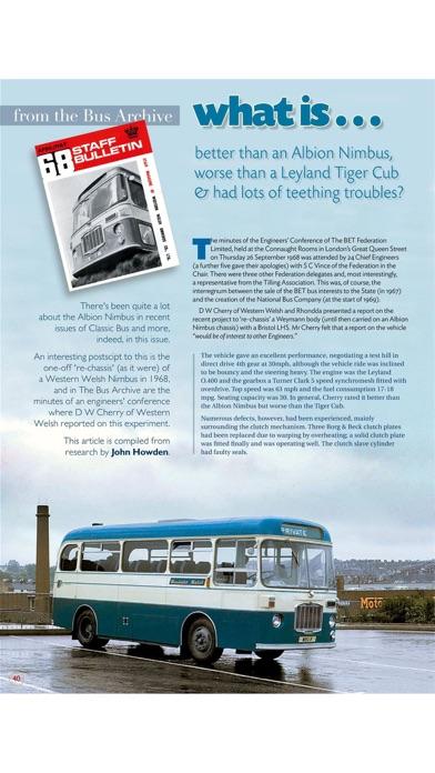 Classic Bus MagazineScreenshot of 8