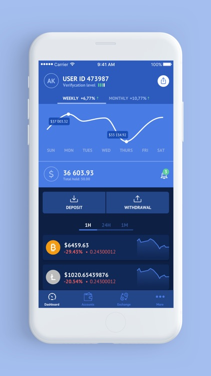 CoinsBank Mobile Wallet