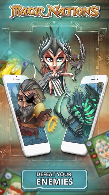 Magic Nations: Card Game screenshot-6