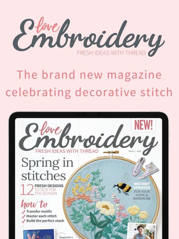 Love Embroidery Magazine screenshot 5