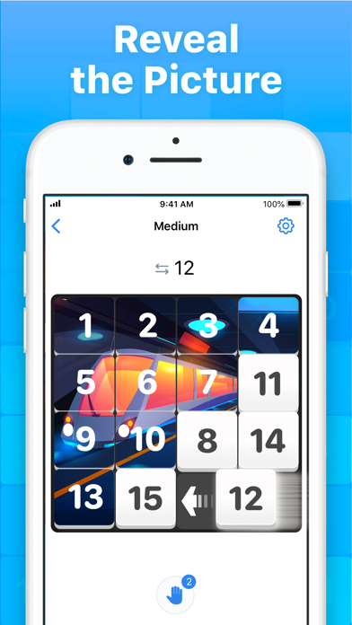 Slide Puzzle - Number Game screenshot 2