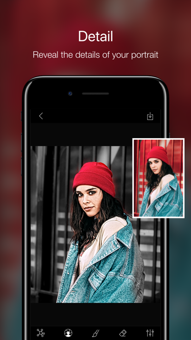 Phocus: Portrait mode editorのおすすめ画像5