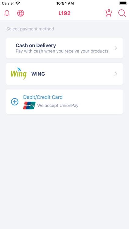 L192 Online Shopping Cambodia screenshot-4