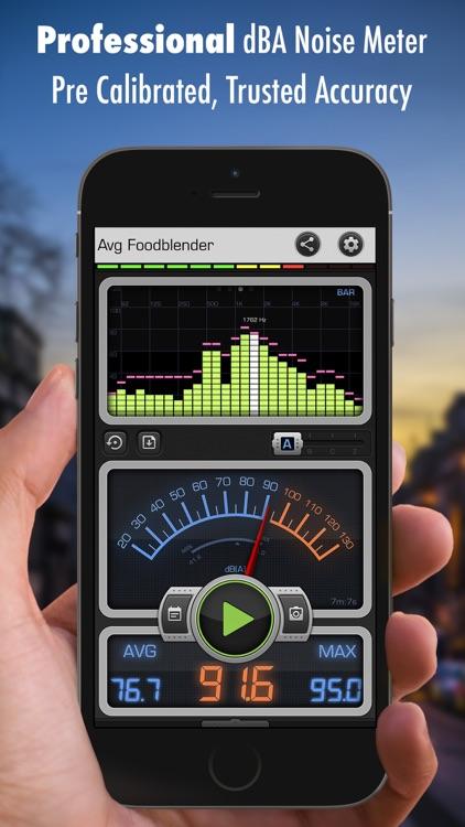 Decibel X: dB, dBA Noise Meter screenshot-0