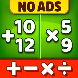 Math Games - Learn + - x ÷