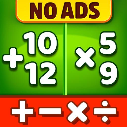 Math Games - Learn + - x ÷