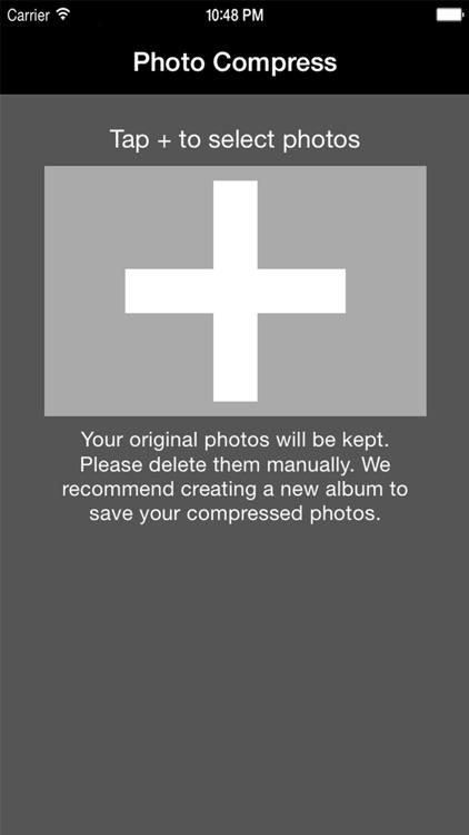 Photo Compress - Shrink Pics screenshot-0