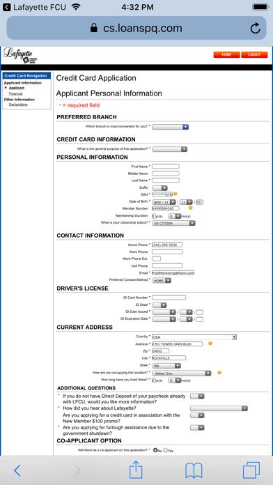 Lafayette Federal Credit UnionScreenshot of 4