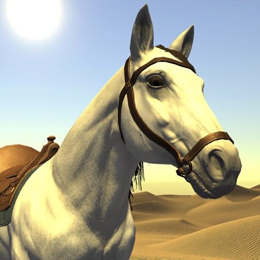 صقر الصحراء : لعبه سباق الخيول