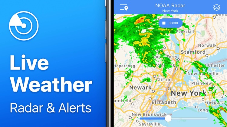 Weather Radar NOAA⁺