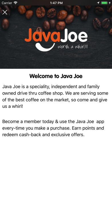 Java Joe screenshot three