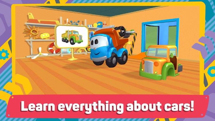Leo and Cars 2: 3D Constructor screenshot-5