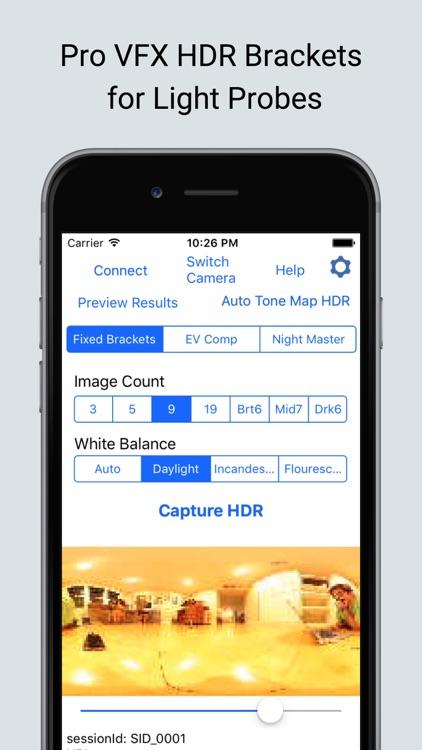 HDR 360 Bracket Ricoh Theta screenshot-0