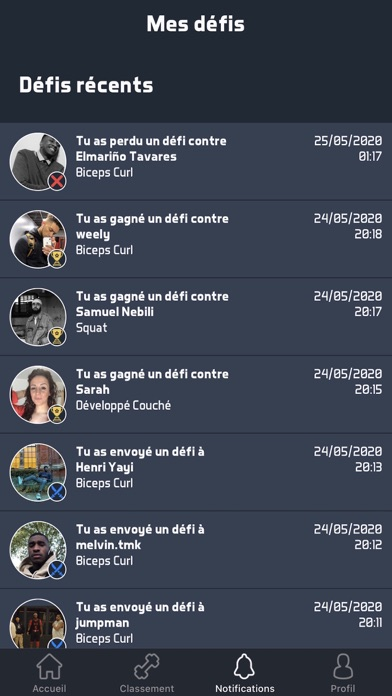 messages.download Workout Life software