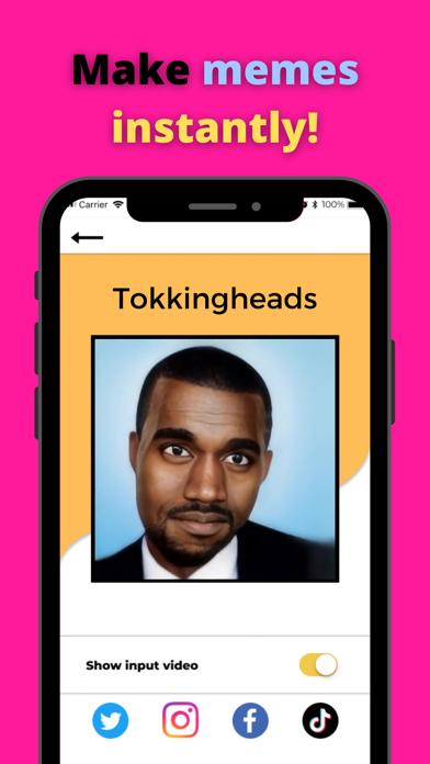 TokkingHeads: Portrait Video screenshot 1